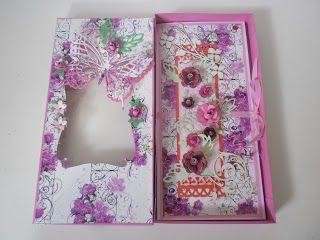 Přání na přání: Přání v jemném fialkovém tonu i s krabičkou