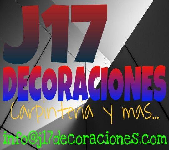 Visita nuestro espacio web j17decoraciones.com para pedir presupesto de tu proyecto.