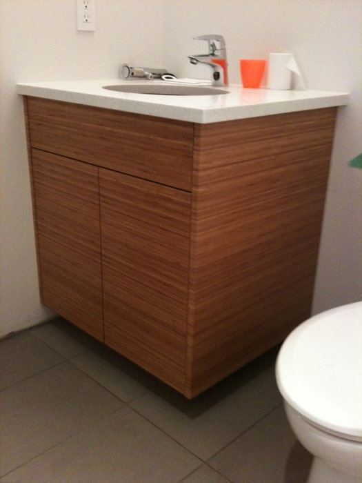 Bamboo Vanity Bathroom Captivating 2018