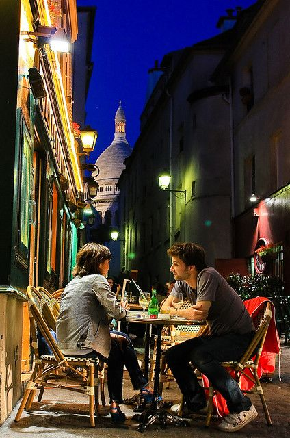Montmartre Cafe Paris