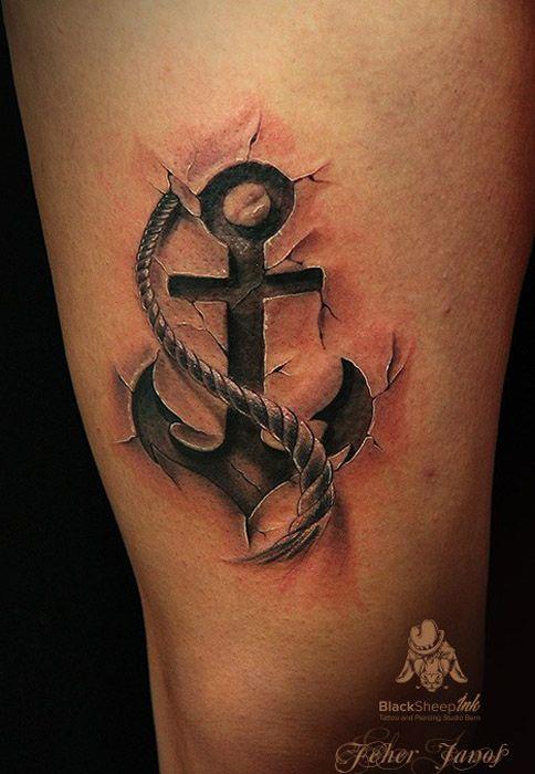 Las 25 mejores ideas sobre tatuajes de anclas en for Los mejores tatuadores