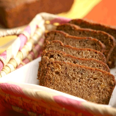 #AnnaOlson's Banana Bread #recipe packs an unexpected punch of #chocolate chips, and is sure to be a hit with your guests.