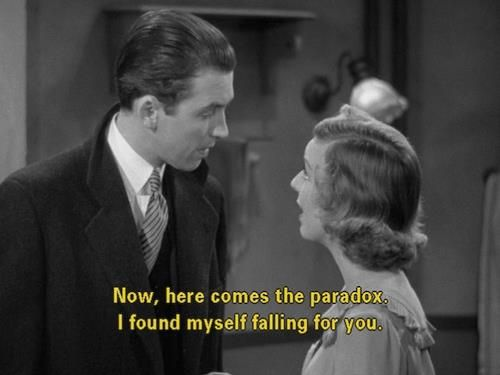 The Shop Around the Corner (1940)... Love jimmy in this movie  the female character is written too mean at the beginning but I love this movie none the less