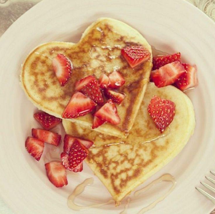 Low Carb Dessert Rezepte Zum Valentinstag Herzchen Protein Pancakes