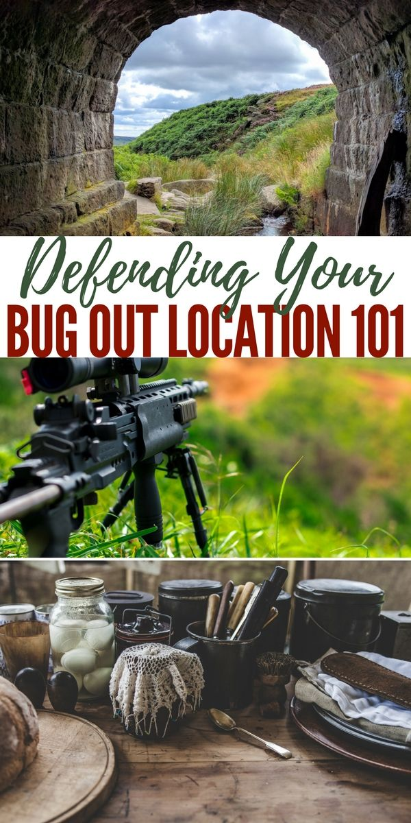 Defending Your Bug Out Location 101 — It doesn't do much good to plan for SHTF, collect food, water, medicine, weapons, and ammo only to have it taken. To protect yourself, your family, and your gear, a lot of people are planning on bugging out to a remote location. Whether to bug out or bug in, you need to protect yourself.