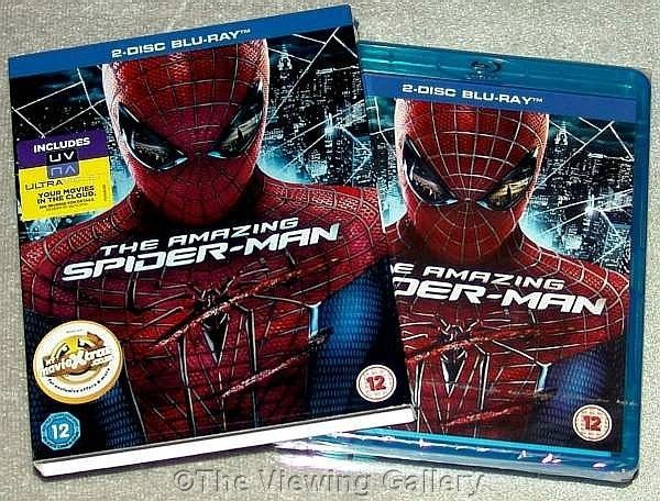 The AMAZING SPIDER-MAN Andrew Garfield 2 disc BLU-RAY Set REGION ALL sealed NEW