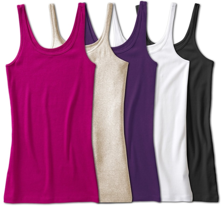 Old Navy Tank Tops...I layer these under everything!!!