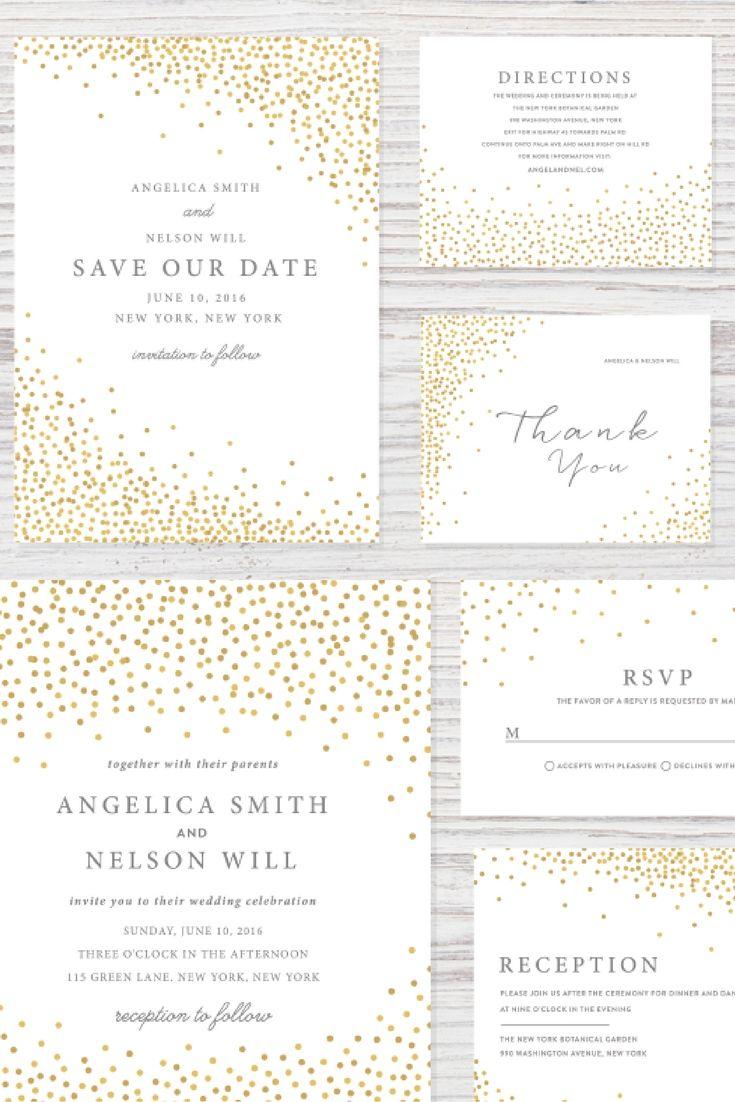 22 best Wedding Invite Inspiration images on Pinterest   Wedding ...