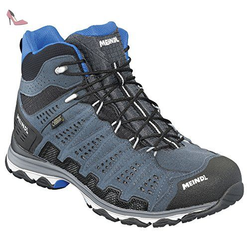 Lite Trail Lady GTX, Chaussures de Randonnée Basses Femme, Gris (Anthrazit/Pink 31), 42.5 EUMeindl