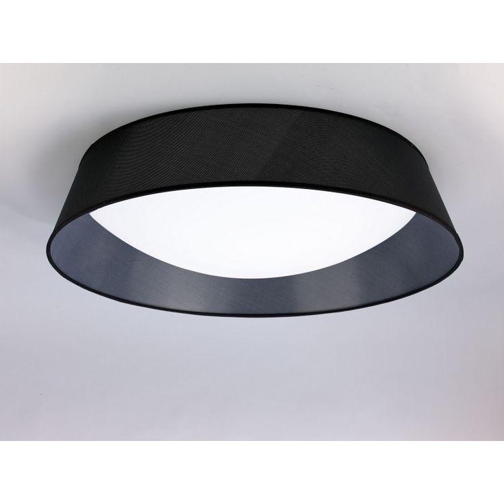 Plafonnier LED Nordica Noir 90cm 2 coloris - Mantra | Comptoir des Lustres