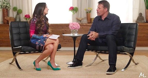 Tony Robbins On Money: Master The Game with Marie Forleo  SO Many great tidbits!