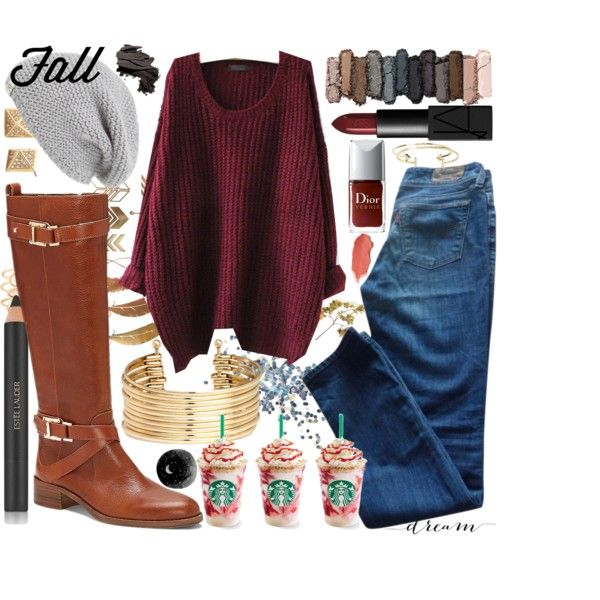 Fall Riding Boots by morgantimm on Polyvore featuring Levi's, Vince Camuto, H&M, Aéropostale, Monsoon, UGG Australia, Urban Decay, Estée Lauder, NARS Cosmetics and Bobbi Brown Cosmetics