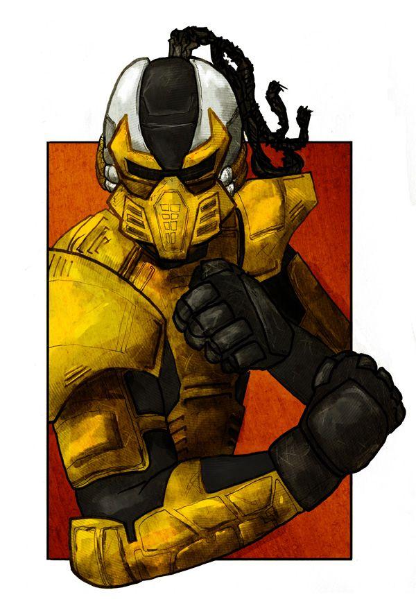 Cyrax - Mortal Kombat - Luke Denby