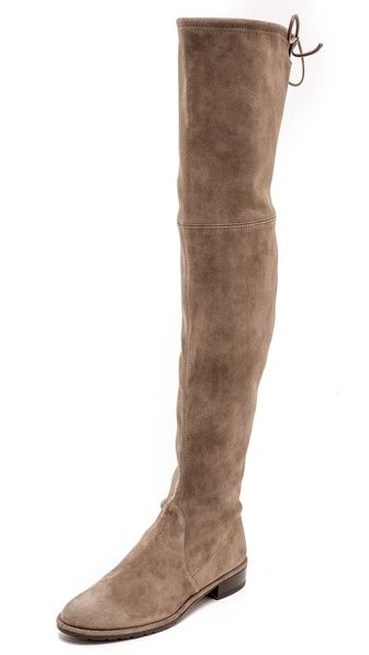 Stuart Weitzman Lowland Thigh High Flat Boots - Find 150+ Top Online Shoe Stores via http://AmericasMall.com/categories/shoes.html
