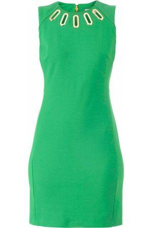 Mouwloze jurken - Michael Kors Green Dress/Gold