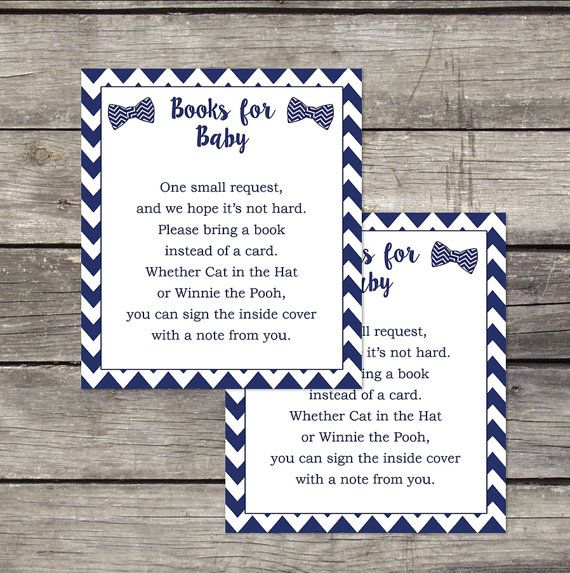 Little Man Book Request Baby Shower Insert - Bring a Book Card - Hipster Baby Shower Invitation - 220