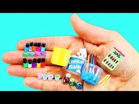 (31) Wie man 100% echte Miniatur-Nagelpflegemittel, Nagellack – 10 einfache … – Alaina's Board