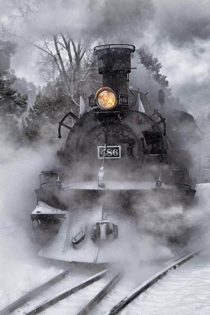 *Steam Engine - Durango, Colorado:
