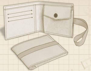 This free wallet pattern is very easy to sew and it's for an unisex wallet. This wallet Is an ideal gift for your husband or for yourself! Leather or faux leather fabrics are suitable for the wallet or for a … Continued