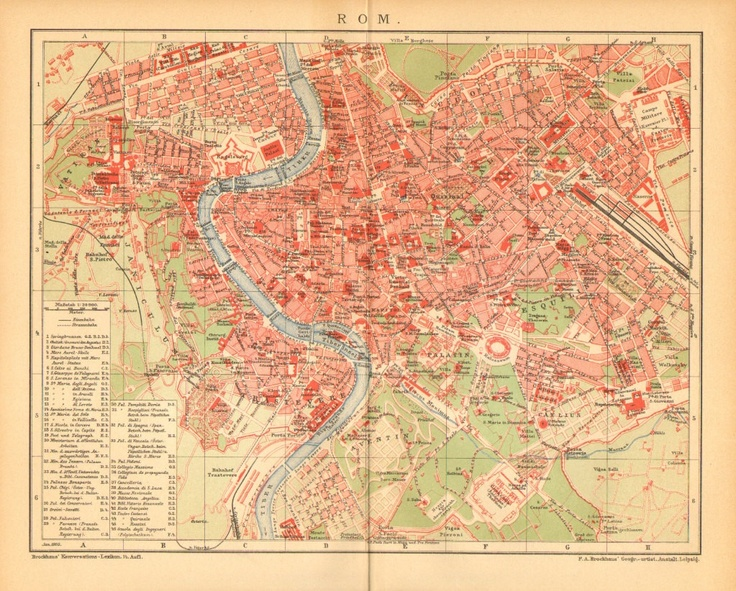 150 best Maps of Rome and Vatican City images on Pinterest
