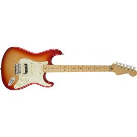 American Deluxe Stratocaster® HSS Shawbucker™, Maple Fingerboard, Sunset Metallic