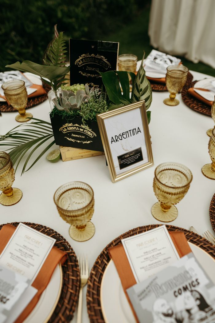 Havana Meets Old Hollywood in This Wedding at The Houdini