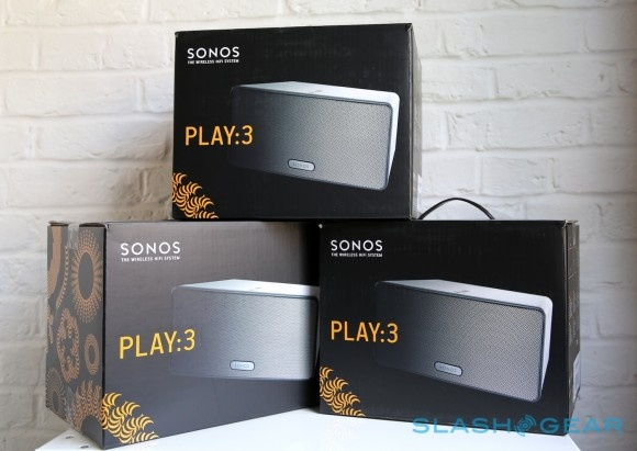 Sonos Play:3 review on SlashGear