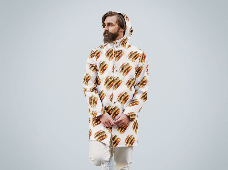 The BigMac Raincoat is finally here! Now you can enjoy the Big Mac in the pouring rain. #bigmac #festival #fashion #lifestyle #bigmacshop #design #apparel #style