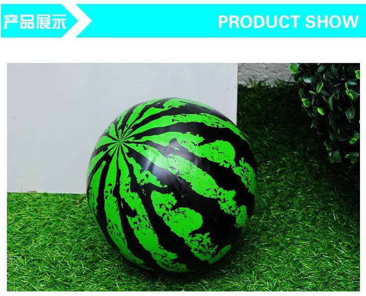 ПВХ надувной пляжный мяч мяч мяч арбуз водные игрушки спа-бассейн плавание плавание ракетка мяч оборудование - Taobao