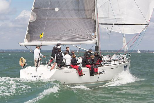 The Beneteau First 40 7 Yacht Incognito Racing During Cowes Week 2013 Yachtweekregatta Fishing Boats Boat Incognito