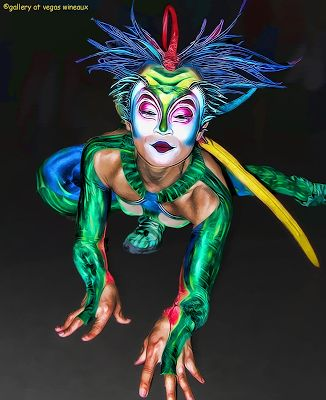 Cirque Du Soleil Makeup Alegria