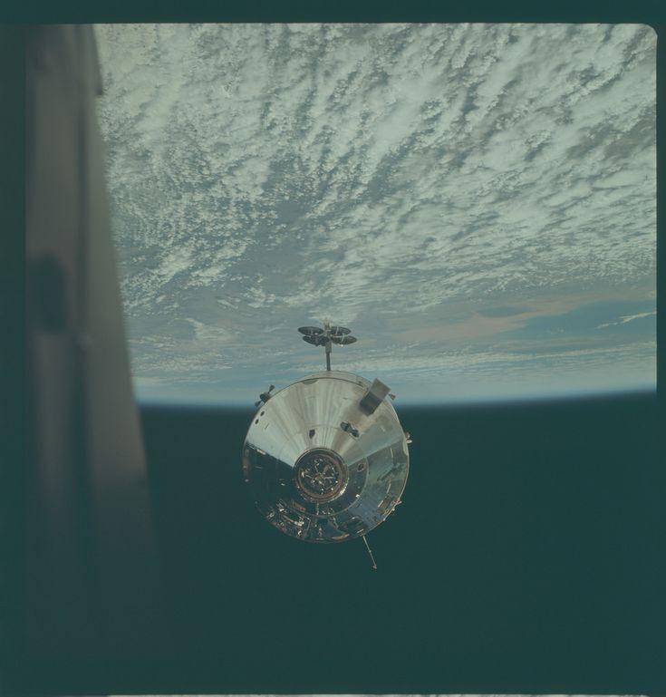 Apollo 9 Hasselblad image from film magazine 24/F - Earth orbit