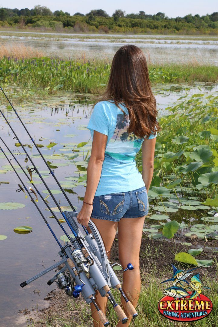 25 best ideas about girl fishing on pinterest fishing for Fishing rod tote