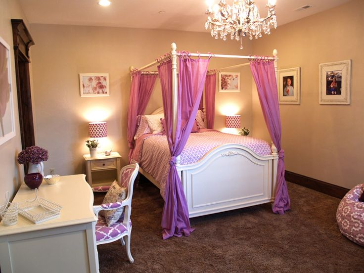 racquel teenage girls bedroom ideas with canopy bed decorative bedroom - Decorative Pictures For Bedrooms