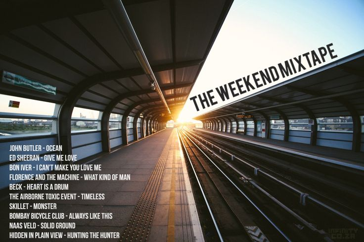 The Weekend Mixtape - Every Friday you can look forward to a new playlist, purposefully designed just to make you smile.