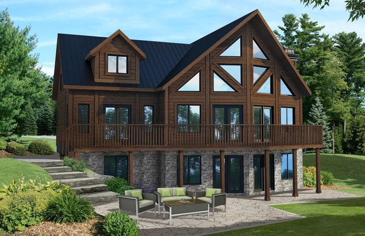 The Labrador in Timber Block's Classic Series.It has stunning architecture and welcoming interiors are some things you can expect from Timber Block.