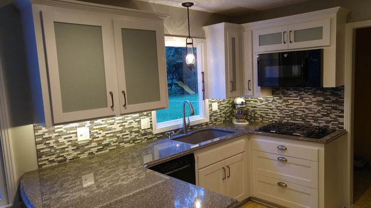 Best A Kitchen Remodel Where We Re Used The Existing Cabinets 400 x 300