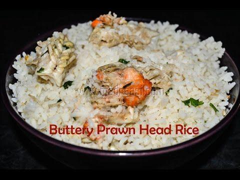 Buttery Prawn Head Rice
