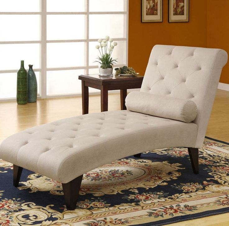 chaise lounge indoor tufted taupe velvet living room furniture home