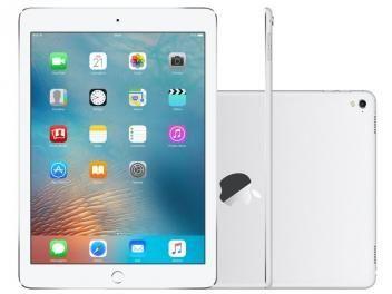 Awesome iPad Pro 2017: iPad Pro Apple 128GB Prata Tela 9,7 Retina - Wi-Fi Processador M9 Câmera 12MP...  divulgação