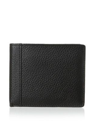 50% OFF Trafalgar Men's Pebbled Wallet (Black)