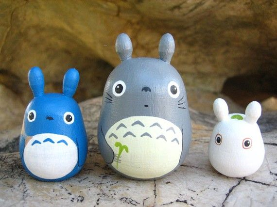 you do not understand how much the girls love totoro... LOVE...