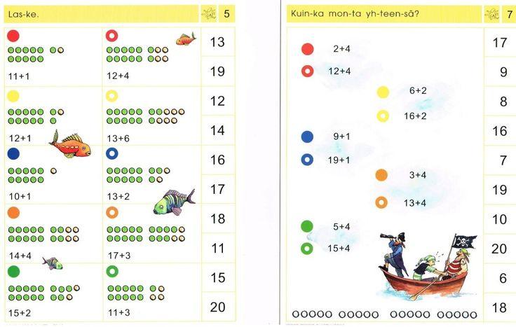 Logico Piccolo Matematiikka luvut 0-20 | Erityisopetus / Logico Piccolo | koulukori.fi