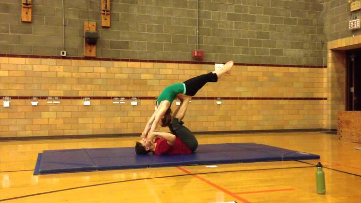 Orville and Natalie's Intermediate Partner Acrobatics Workshop Flow: It would be awesome if our guard could do this