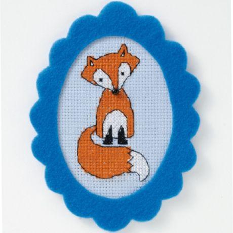 Fox free cross stitch pattern.     Hi, there, you woodland creature cutie!