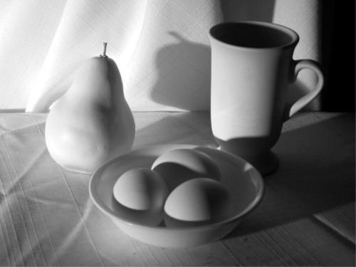 Still Life eggs is eggs - WetCanvas