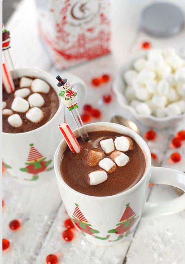 Cioccolata calda e marshmallows