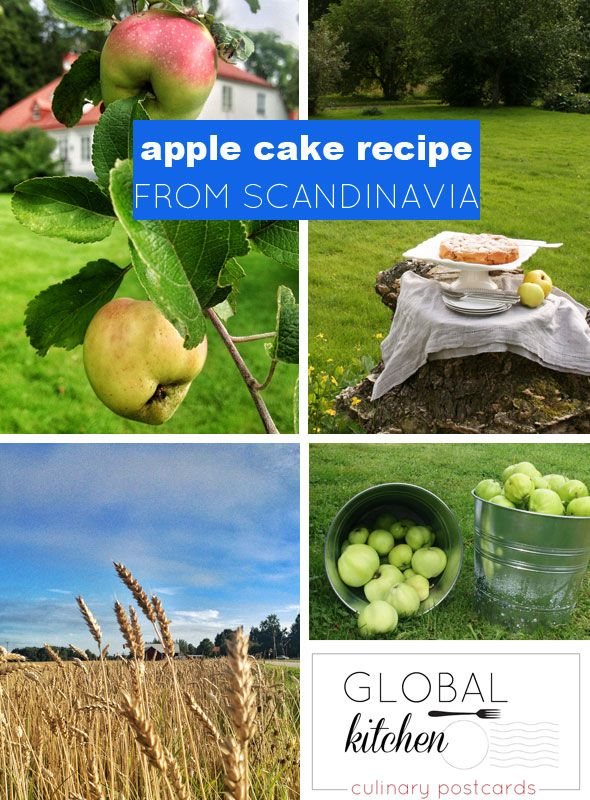 The Easiest Apple Cake Recipe You've Ever Seen from Scandinavia!