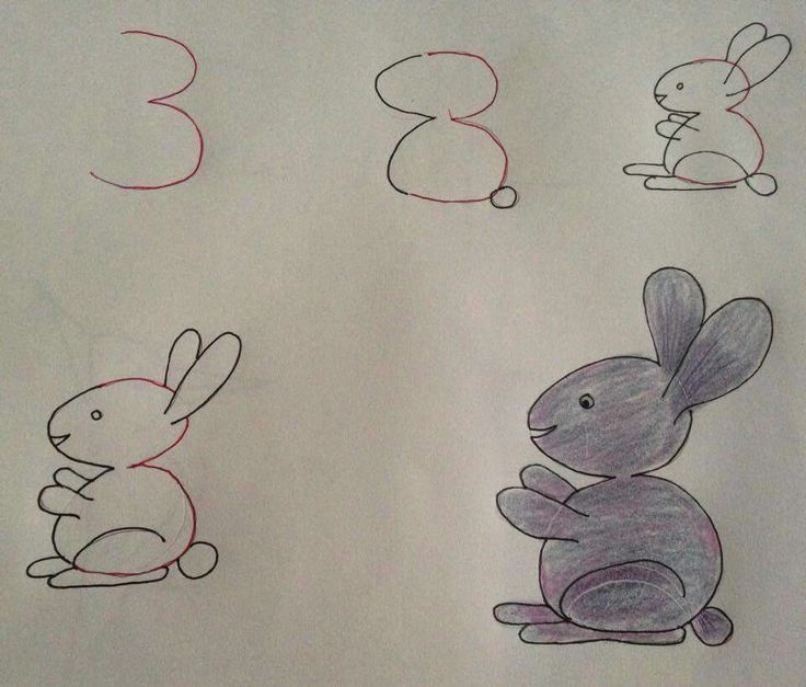 Of course the number bunny is my favorite one!
