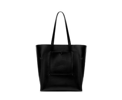 TOTE BAG WITH POCKET from Zara